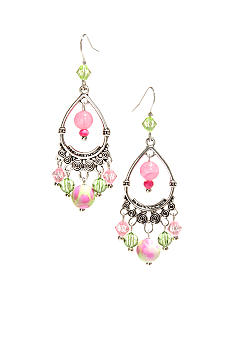 New Directions Strawberry Lime Chandelier Earrings