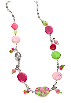New Directions Strawberry Lime Long Necklace