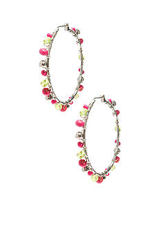 New Directions Strawberry Lime Hoop Earrings