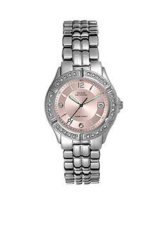 GUESS Sporty Mid-Size Watch With Crystals