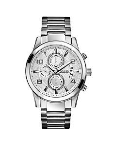 GUESS Men's Chronograph Stainless Steel Bracelet Watch