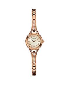 GUESS Women's Feminine Rose Gold-Tone Bracelet Watch