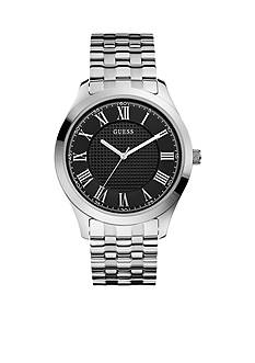 GUESS Men's Classic Roman Numeral Steel Watch