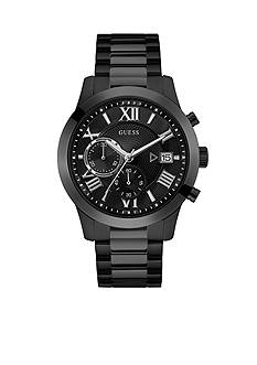 GUESS Sterling Silver Guess Black Classic Style Watch
