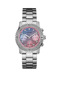 GUESS Women's Blue-Pink Watch