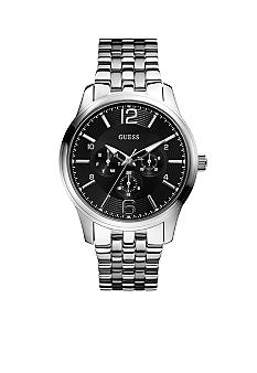 GUESS Men's Sport Dress Multi-Function Steel Watch