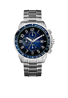 GUESS Men's Gradient Blue Dial Chronograph Watch