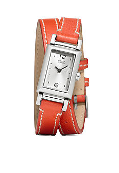 COACH MADISON DOUBLE WRAP WATCH