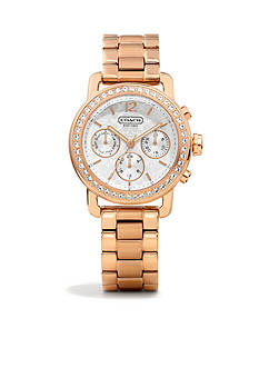 WOMEN'S COACH LEGACY SPORT MINI BRACELET WATCH