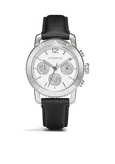COACH LEGACY SPORT CHRONOGRAPH STAINLESS STEEL STRAP WATCH