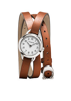 COACH DREE TRIPLE WRAP STRAP WATCH