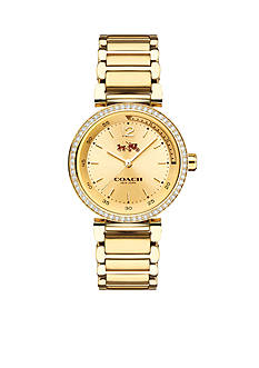 COACH 1941 SPORT SMALL GOLD PLATED BRACELET WATCH