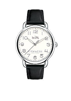 COACH Women's Delancey Stainless Steel Strap Watch