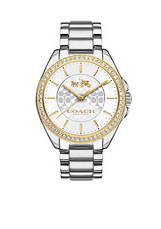 COACH Tristen Two-Tone Bracelet Watch