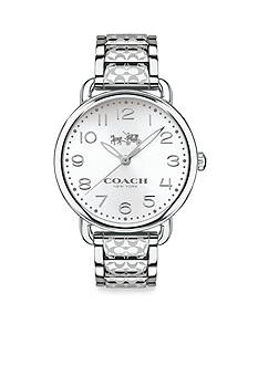 COACH WOMEN'S DELANCEY STAINLESS STEEL BRACELET WATCH