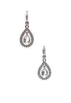 Carolee Pave Teardrop Earring