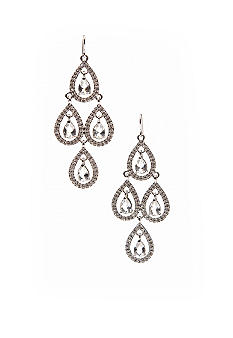 Carolee Pave Chandelier Earring