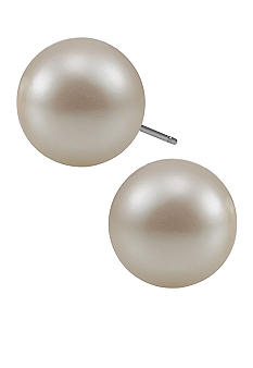 Carolee Pearl Stud Earrings