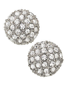 Carolee Crystal Fireball Stud Earrings