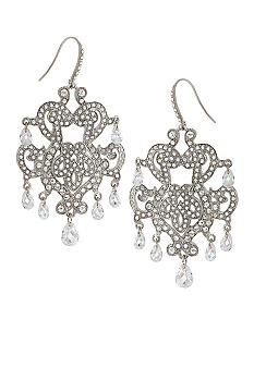 Carolee 40th Anniversary FIT Collection Chandelier Earrings