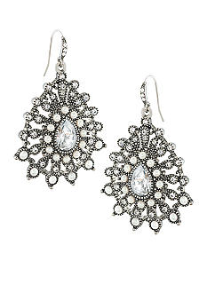 Carolee Ladylike Beauty Chandelier Pierced Earrings