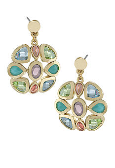 Carolee Exclusive Cluster Drop Earrings