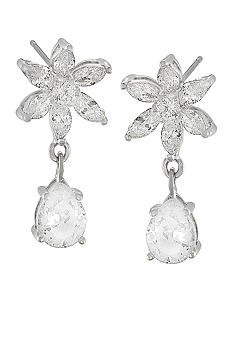 Carolee Debutant Ball Double Drop Pierced Earrings