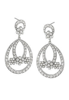 Carolee Debutant Ball Gypsy Drop Pierced Earrings