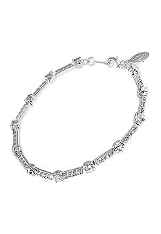 Carolee Crystal Chain Bracelet