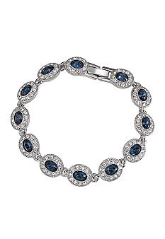 Carolee Simply Blue Crystal Bracelet<br>
