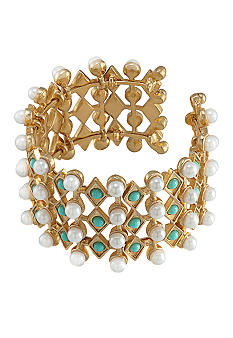 Carolee Blue Skies Cuff Bracelet