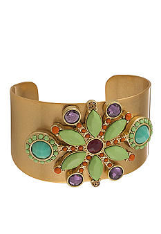Carolee Bright Side Wide Cuff Bracelet