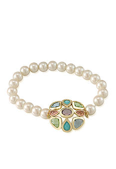 Carolee Jewel Accented Stretch Bracelet