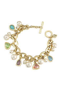 Carolee Ornate Charm Bracelet