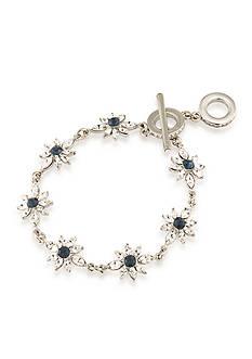 Carolee Silver-Tone New York Star Bracelet