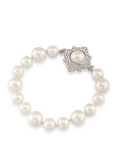 Carolee Silver-Tone Waldorf Flex Bracelet