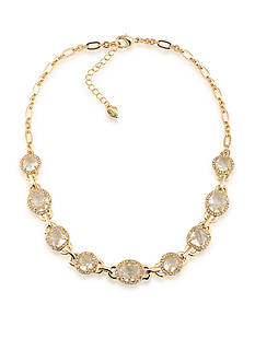 Carolee Gold-Tone Columbus Circle Collar Necklace