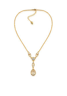 Carolee Gold-Tone Columbus Y Necklace