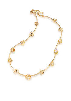 Carolee Gold-Tone Riverside Park Collar Necklace