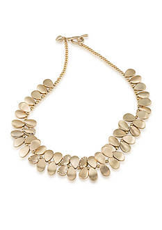 Carolee Gold-Tone Riverside Park Statement Necklace