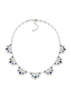 Carolee Silver-Tone The Cloisters Collar Necklace