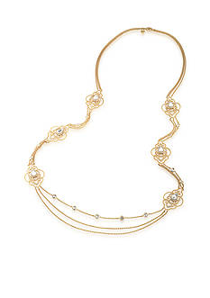 Carolee Gold-Tone Bryant Park Long Necklace