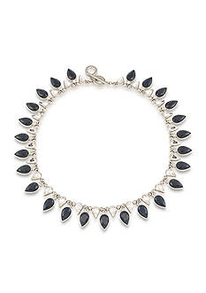 Carolee Silver-Tone New York Star Statement Necklace