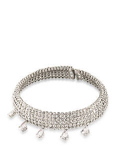 Carolee Silver-Tone East Side Statement Choker Necklace