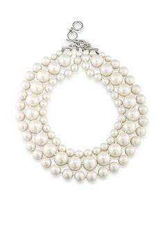 Carolee Soho House Three Row Necklace
