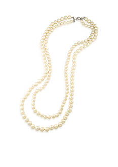Carolee Soho House Two Row Rope Necklace