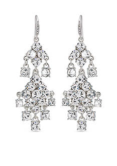 Carolee Broadway Lights Chandelier Pierced Earrings