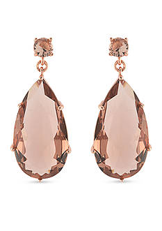Carolee Pocket Park Teardrop Chandelier Earrings