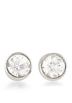 Carolee Silver-Tone East Side Stud Earrings