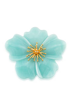 Carolee Gold-Tone Mom's the Word Blooming Blues Pin